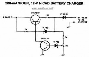 200mA/Hour 12V NiCAD Battery Charger