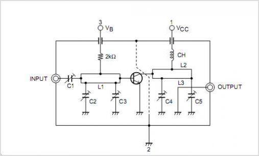 VHF/UHF Mixer Local Oscillator - schematic