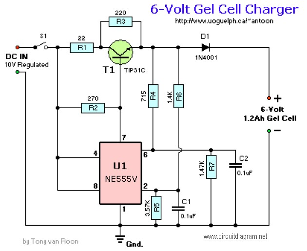 Battery Charger Circuit Page 6 Power Supply Circuits