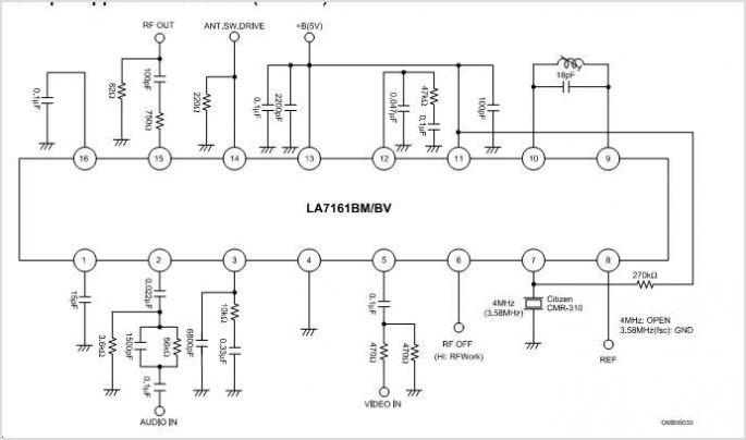 rf modulator wiring diagram schematic wiring diagrams u2022 rh arcomics co Nintendo RF Modulator rf modulator circuit diagram