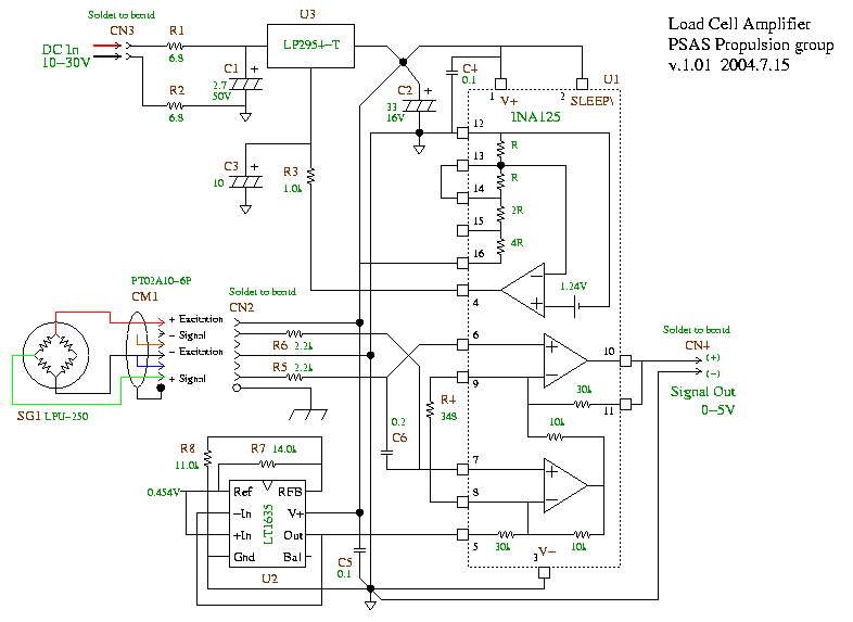 u0026gt  circuits  u0026gt  load cell amp schematic l23301