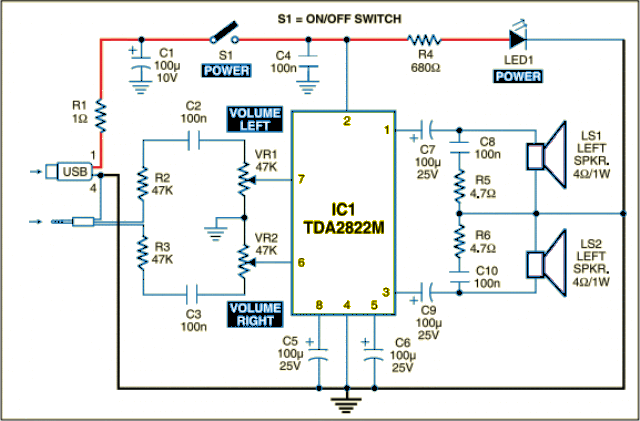 mini usb speaker circuit diagram wiring diagrams usb circuit page 3 puter circuits next gr circuit diagram and explanation