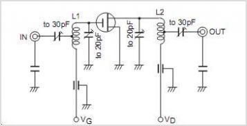 FM Tuner VHF Band Amplifier - schematic