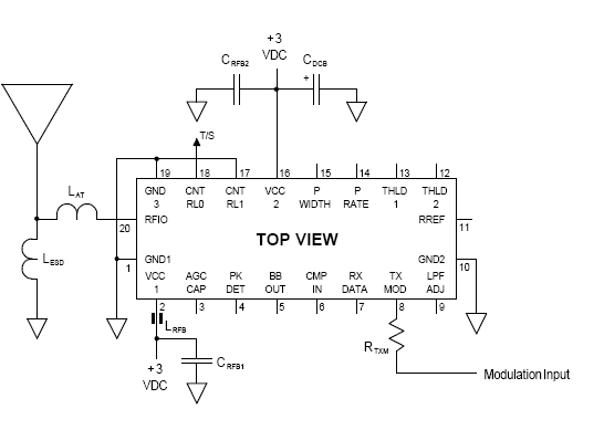 Bugging Countermeasure - schematic