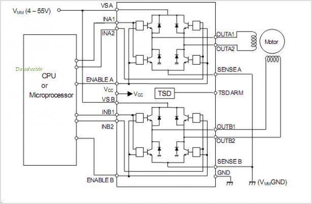 h-bridge circuit : Other Circuits :: Next.gr on