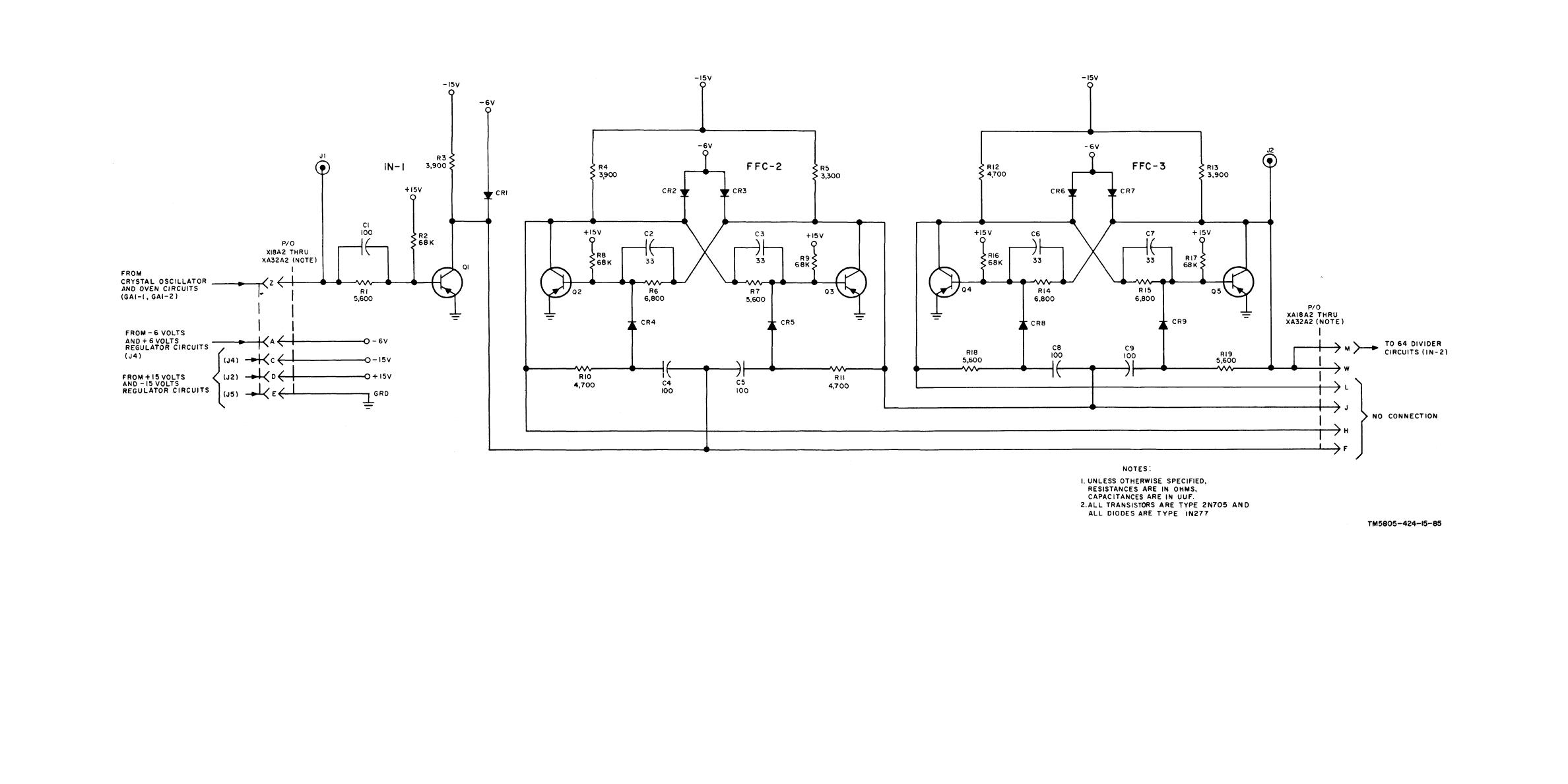 Results Page 259 About 4 Digit Display Searching Circuits At Clock Circuit 5 Meter Counter Nextgr Two Stage Frequency Divider