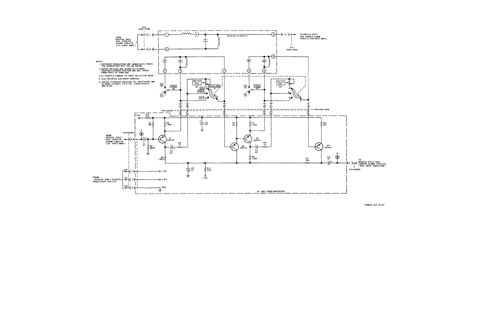 Equalizer Circuit Page 2 Audio Circuits Power Acoustik Wiring Diagrams Delay