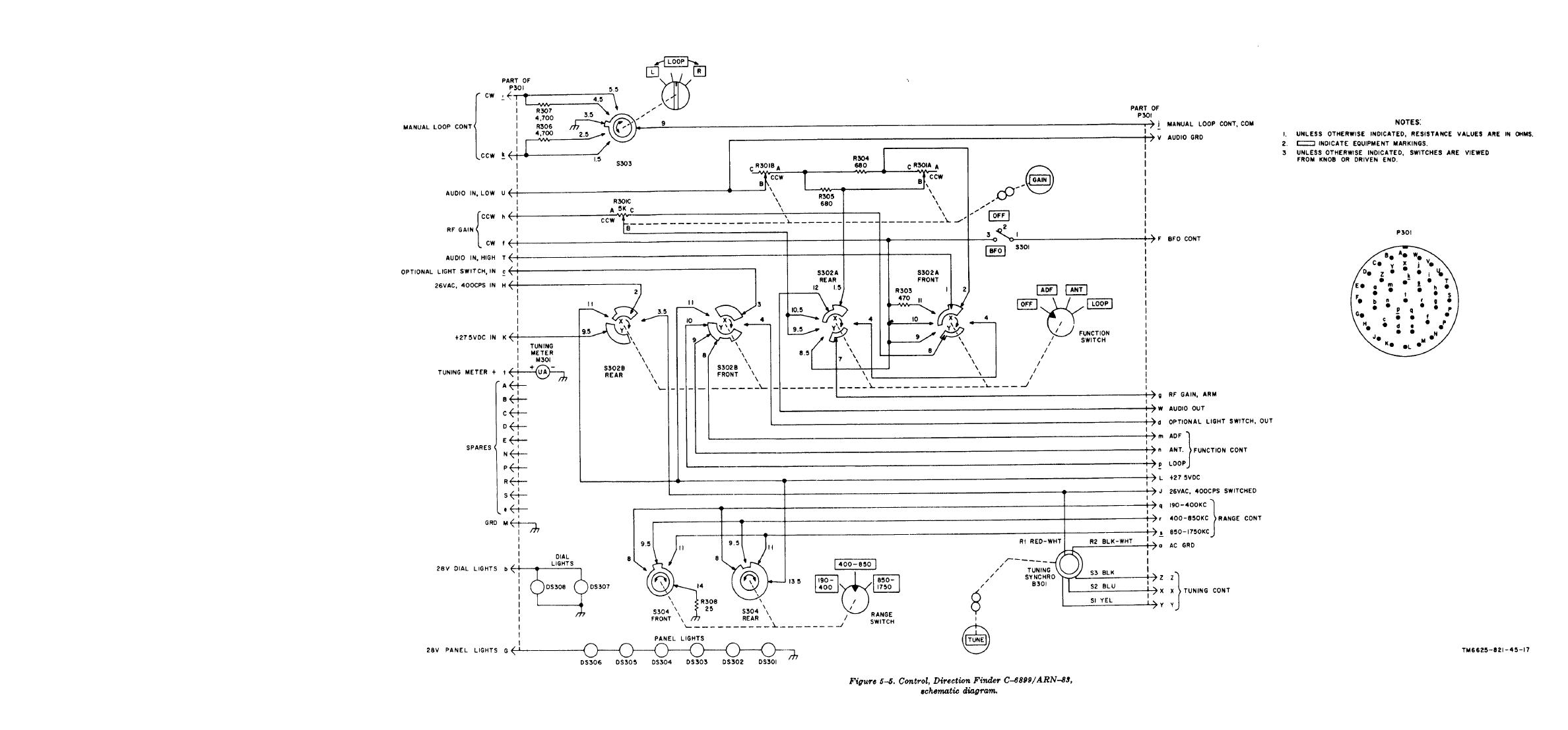 Popular Circuits Page 189 555 Timebase Circuit Internal Structure 555circuit Control Direction Finder C 6899 Arn 83 Transformer