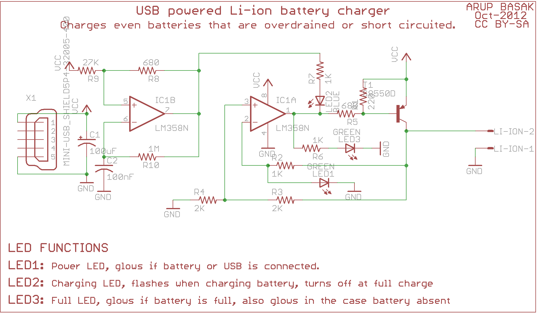USB li-ion charger revision