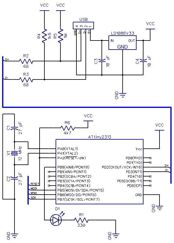 AVR ATtiny USB Tutorial