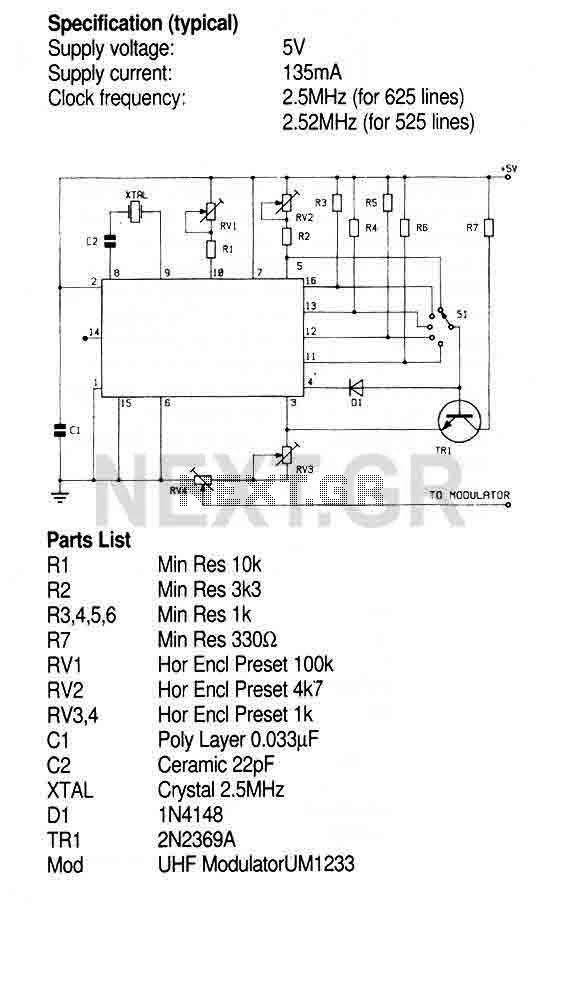 TV Pattern Generator (ZNA234E) - img1