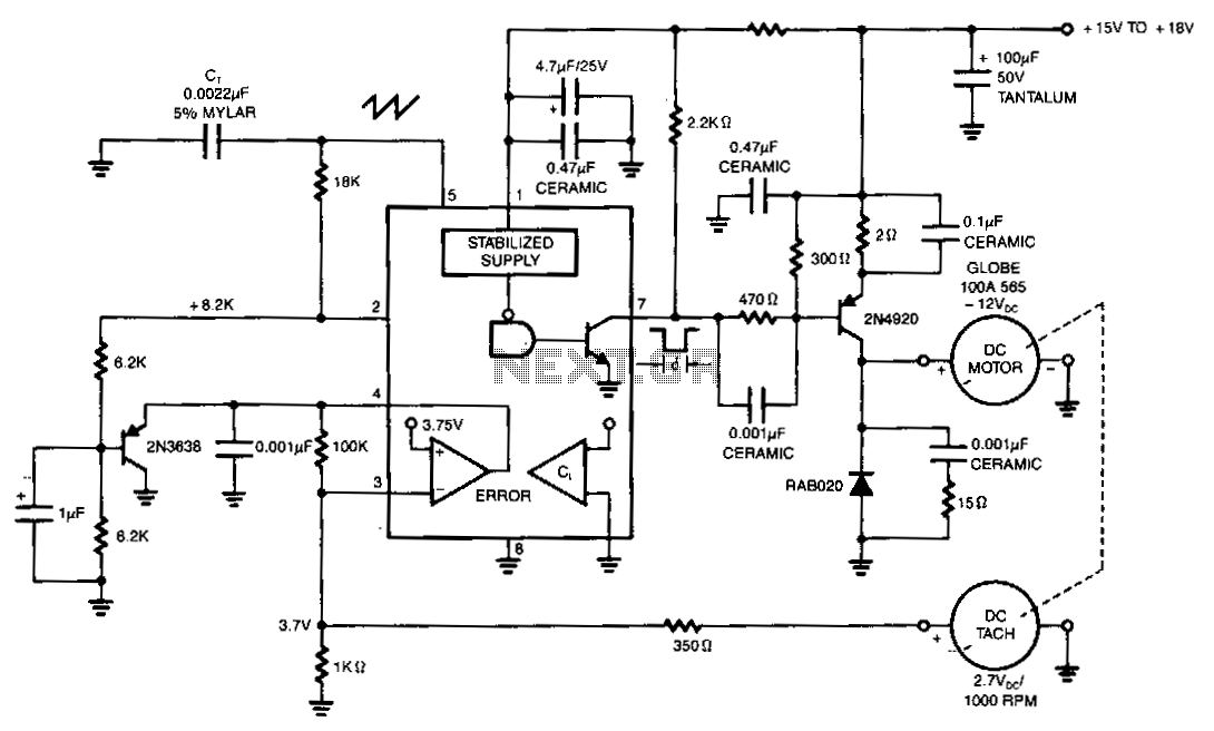 Dc-motor-drive-with-fixed-speed-control