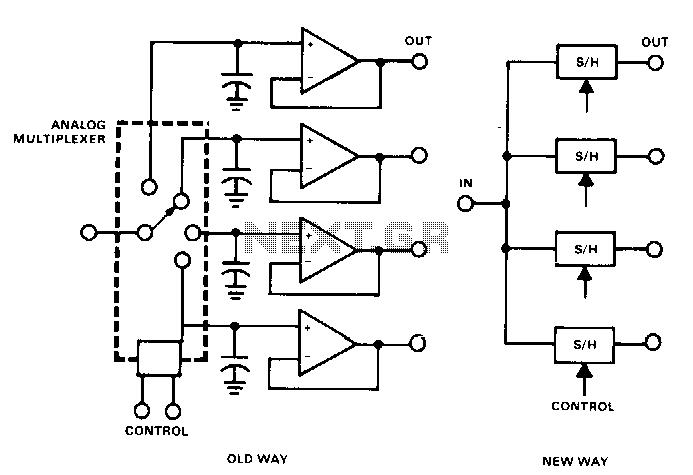Demultiplexer - schematic