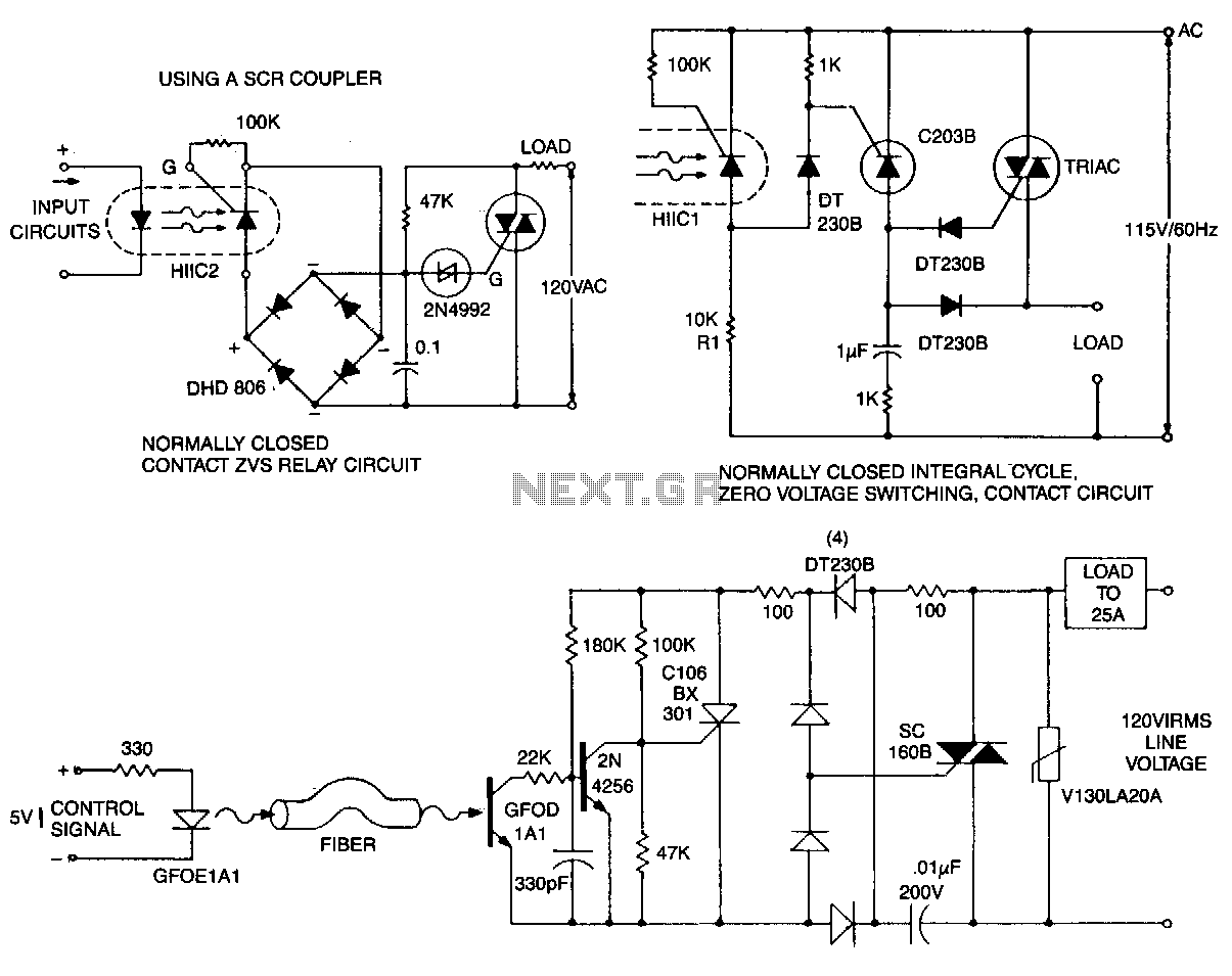 Zero-voltage-switching-circuits