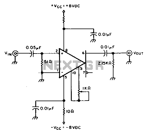 Frequency Counter Preamplifier Circuit : Meter circuit page counter circuits next gr