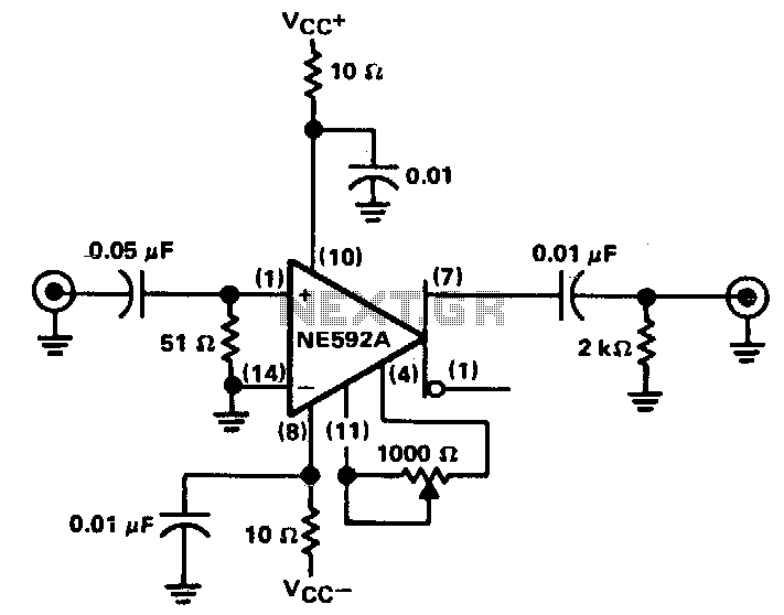 Frequency Counter Preamplifier Circuit : Gt meter counter meters oscilloscope
