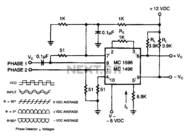 sensor circuit : sensors detectors circuits :: next.gr, Circuit diagram