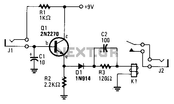 Camera-alarm-trigger - schematic