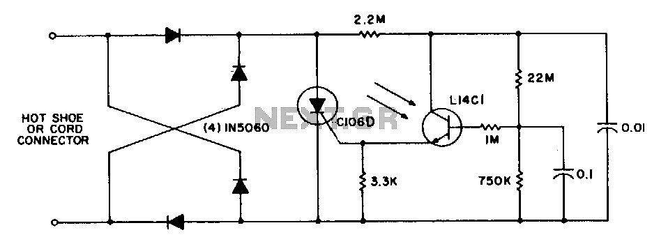 Xenon-flash-trigger - schematic