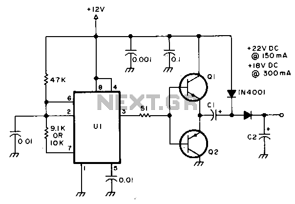 u0026gt  power supplies  u0026gt  ac dc dc dc  u0026gt  regulated voltage divider l12906