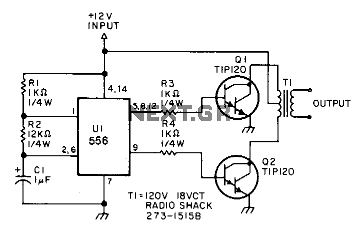 Low-power-inverter - schematic