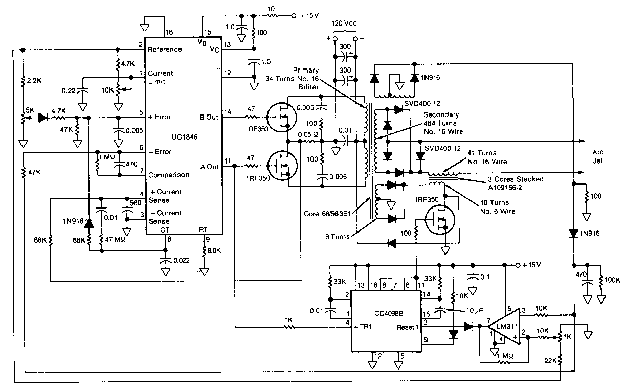 High Voltage Power Supply Circuit Diagrams Divider Diagram Tradeoficcom Schematics Schematic Wiring