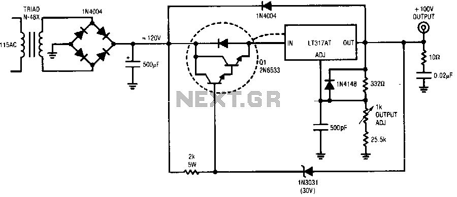 High-voltage-regulator