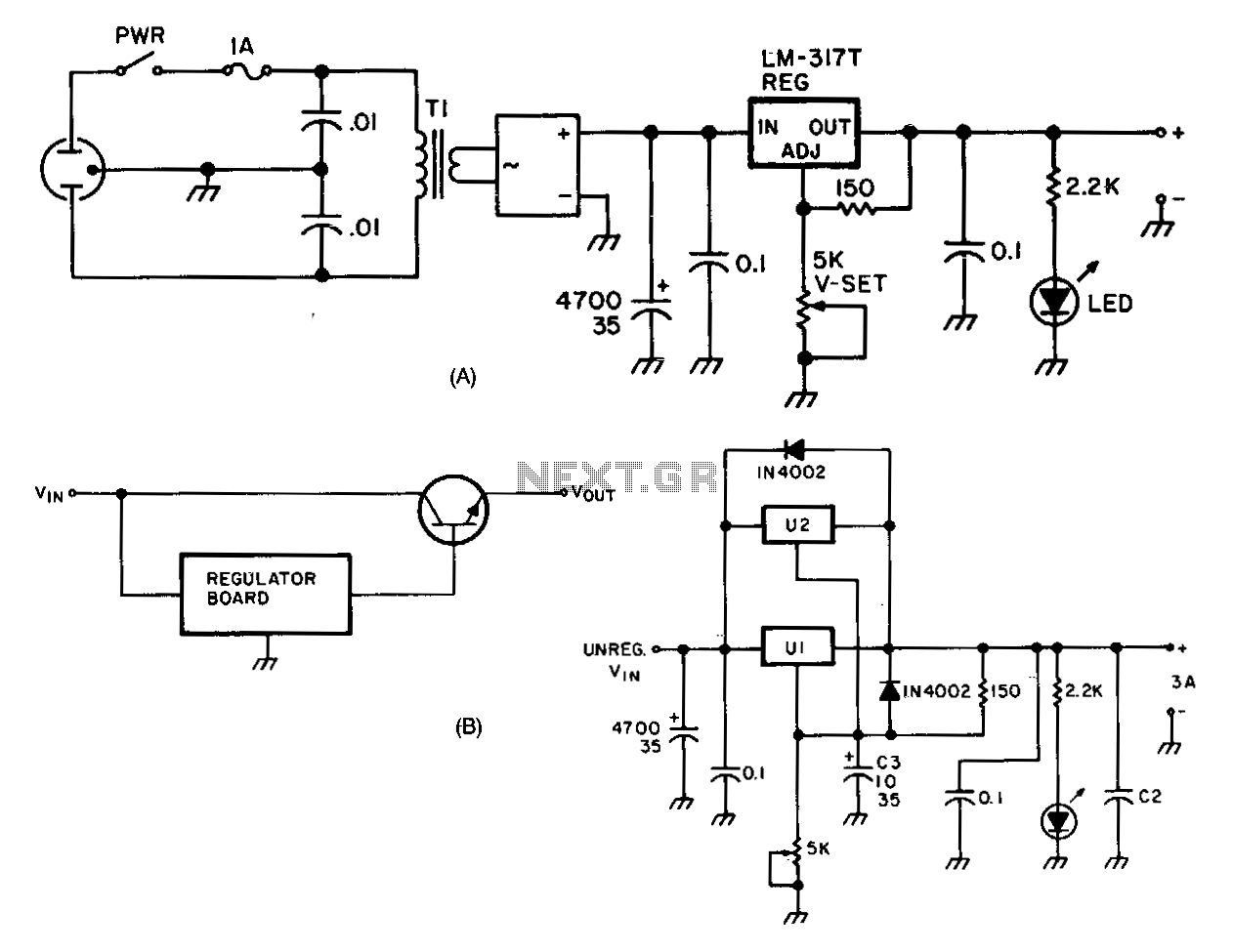 Power Supply Page 3 Circuits Adjustable Regulated Dc Circuit Diagram 30v Universal Module