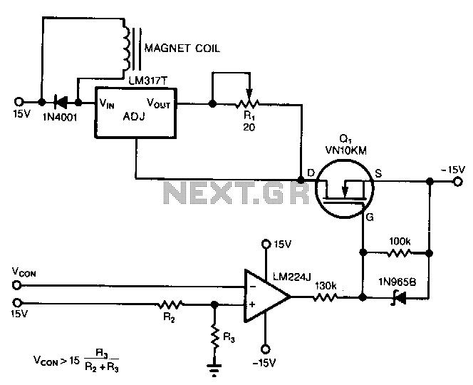 Regulator-current-source - schematic