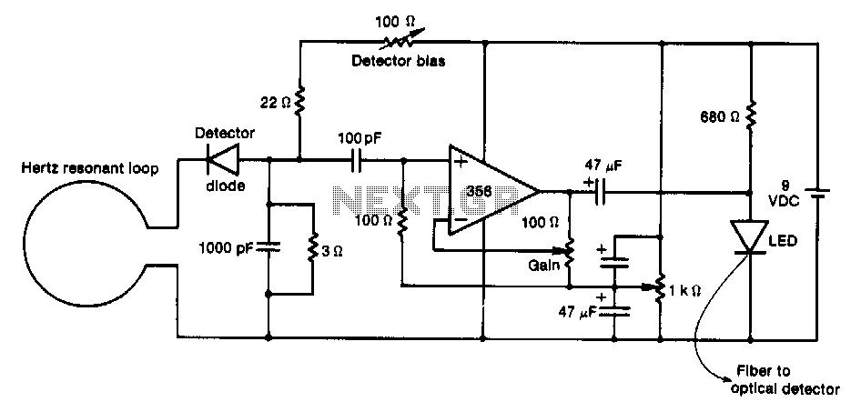 Rf-probe - schematic