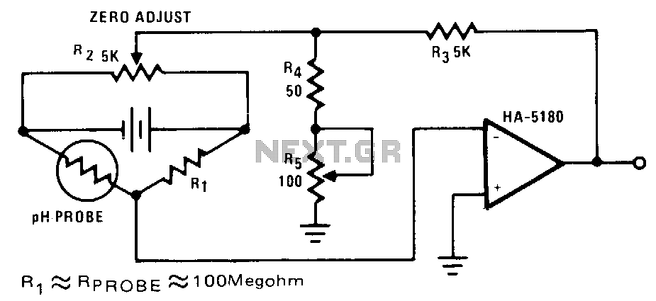 Ph-probe-and-detector - schematic