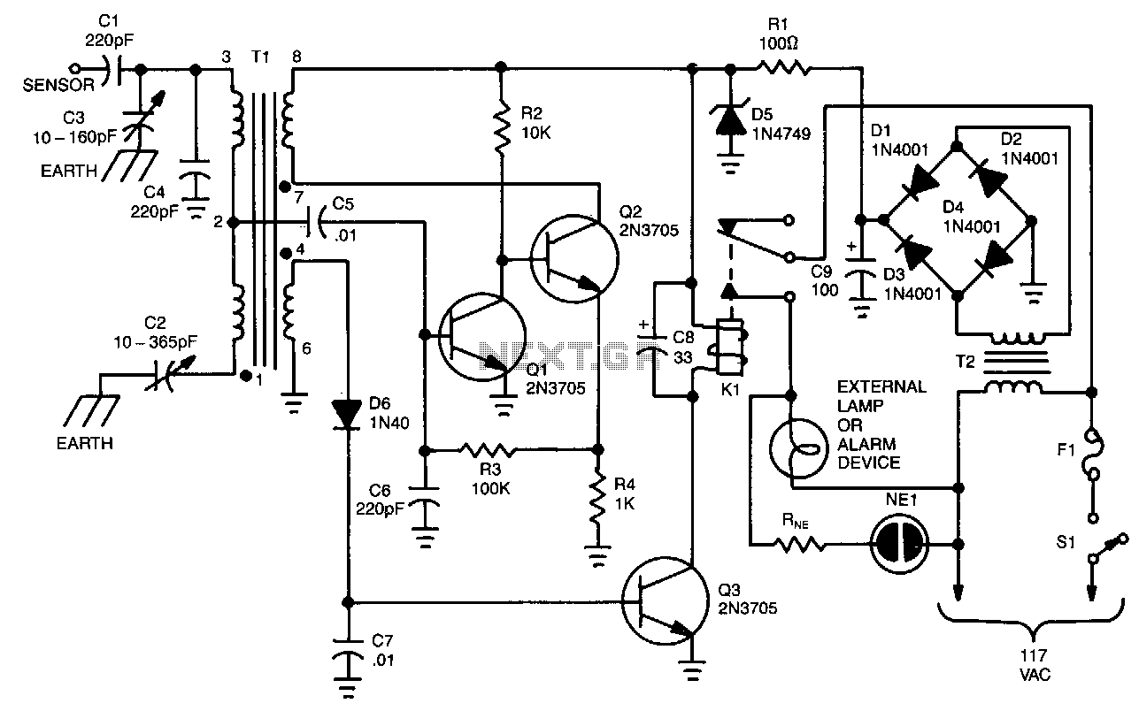 capacitive sensor circuit