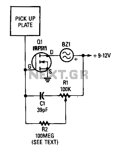 Proximity-switch - schematic