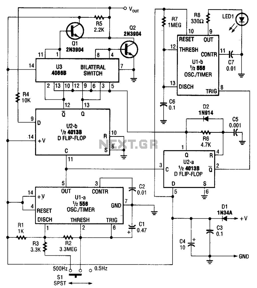 Logic-pulser - schematic