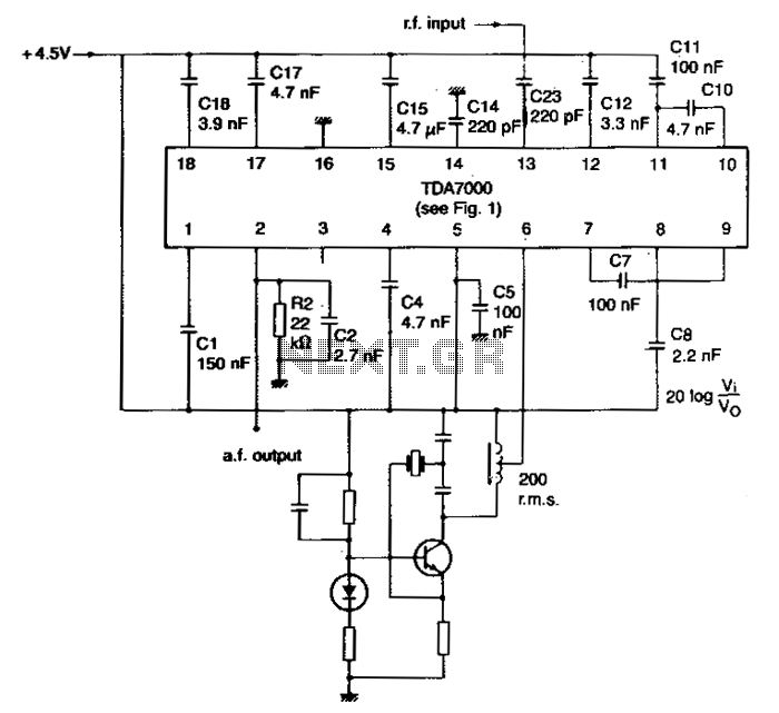 Narrow-band-fm-receiver - schematic