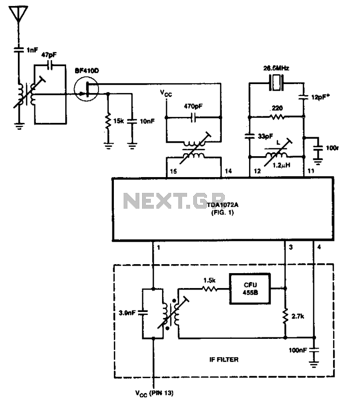 Integrated-am-receiver - schematic