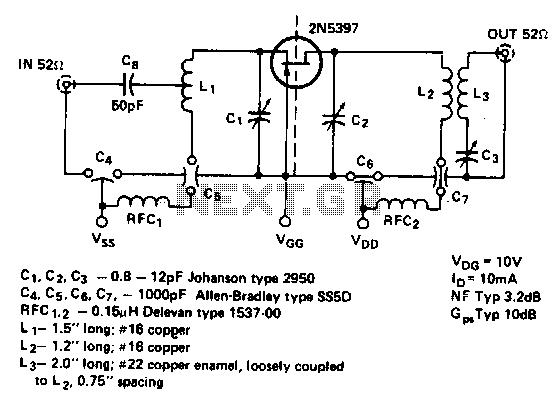 rf amplifier circuit   rf circuits    next gr