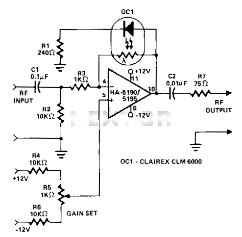 Quick view of Rf-wideband-adjustable-agc-amplifier