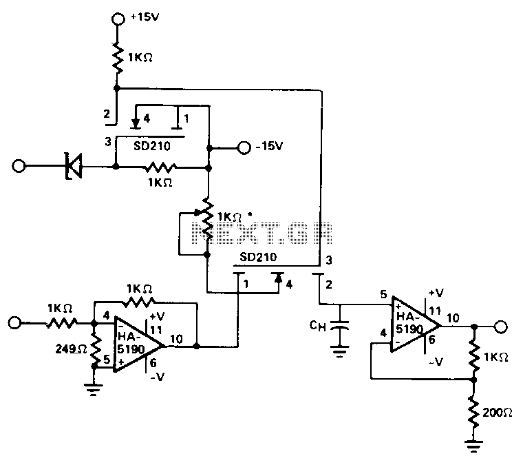 High-speed-sample-and-hold - schematic