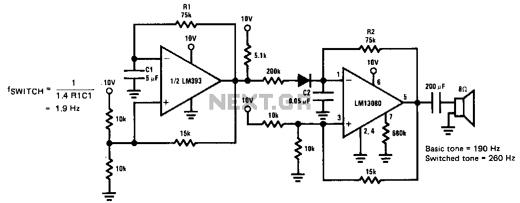 siren circuit : Security Circuits :: Next gr