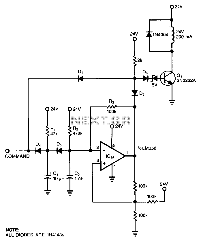Hold-current-limiter - schematic