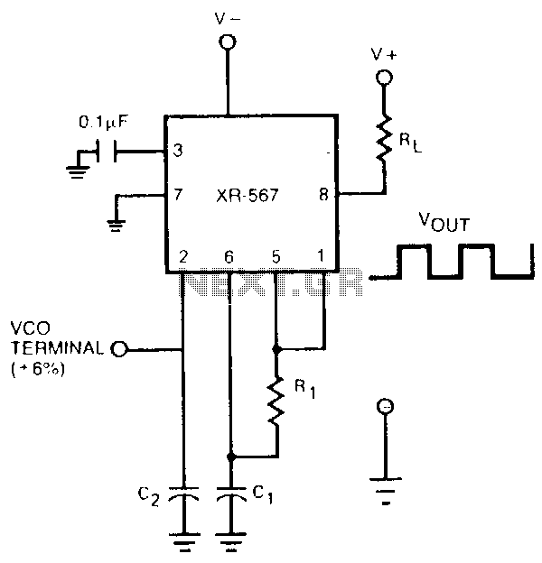 High-current-oscillator - schematic