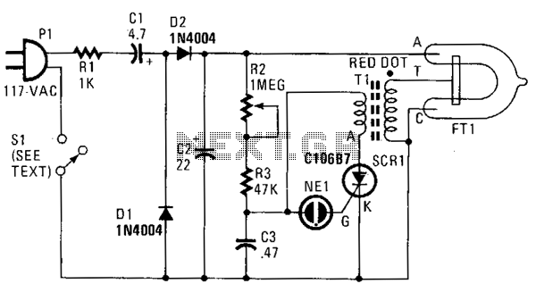 strobe light schematic wiring diagrams for rh 20 kksey for radio de strobe light schematic LED Strobe Light Circuit Diagram