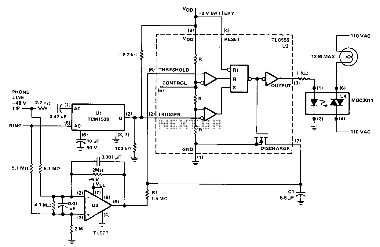 telephone hybrid circuit schematic furthermore telephone