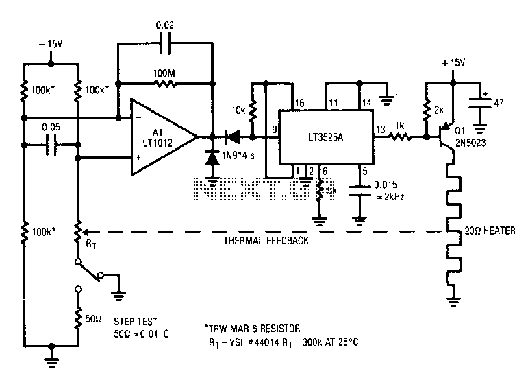 Temperature-controuer - schematic