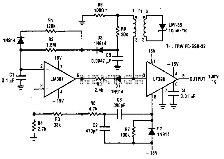 Two-simple-temperature-to-time-converters - schematic