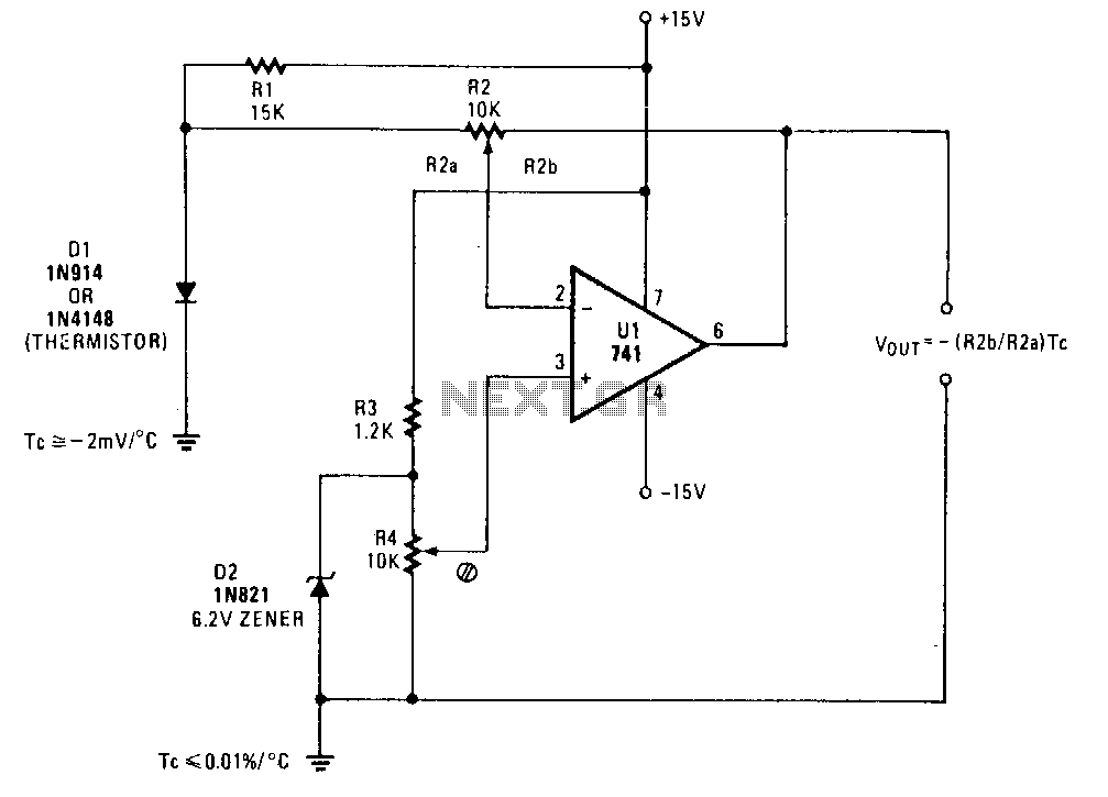 Thermometer-adapter - schematic
