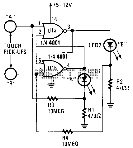 Digital-touch-on-off-switch - schematic
