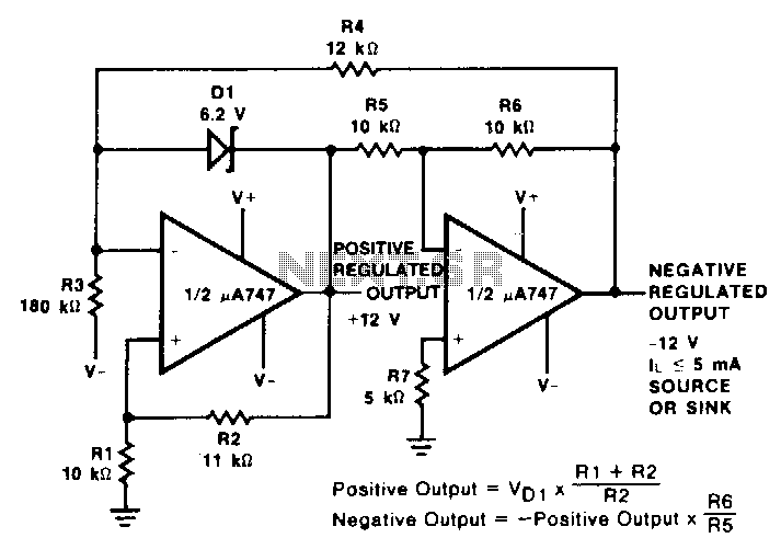 Positive-and-negative-voltage-reference-tracker