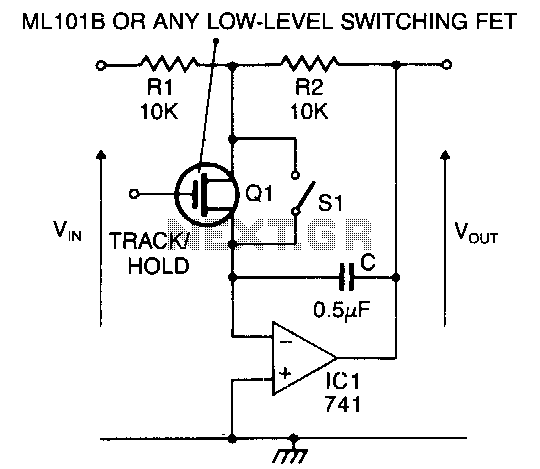 Signal-track-and-hold - schematic